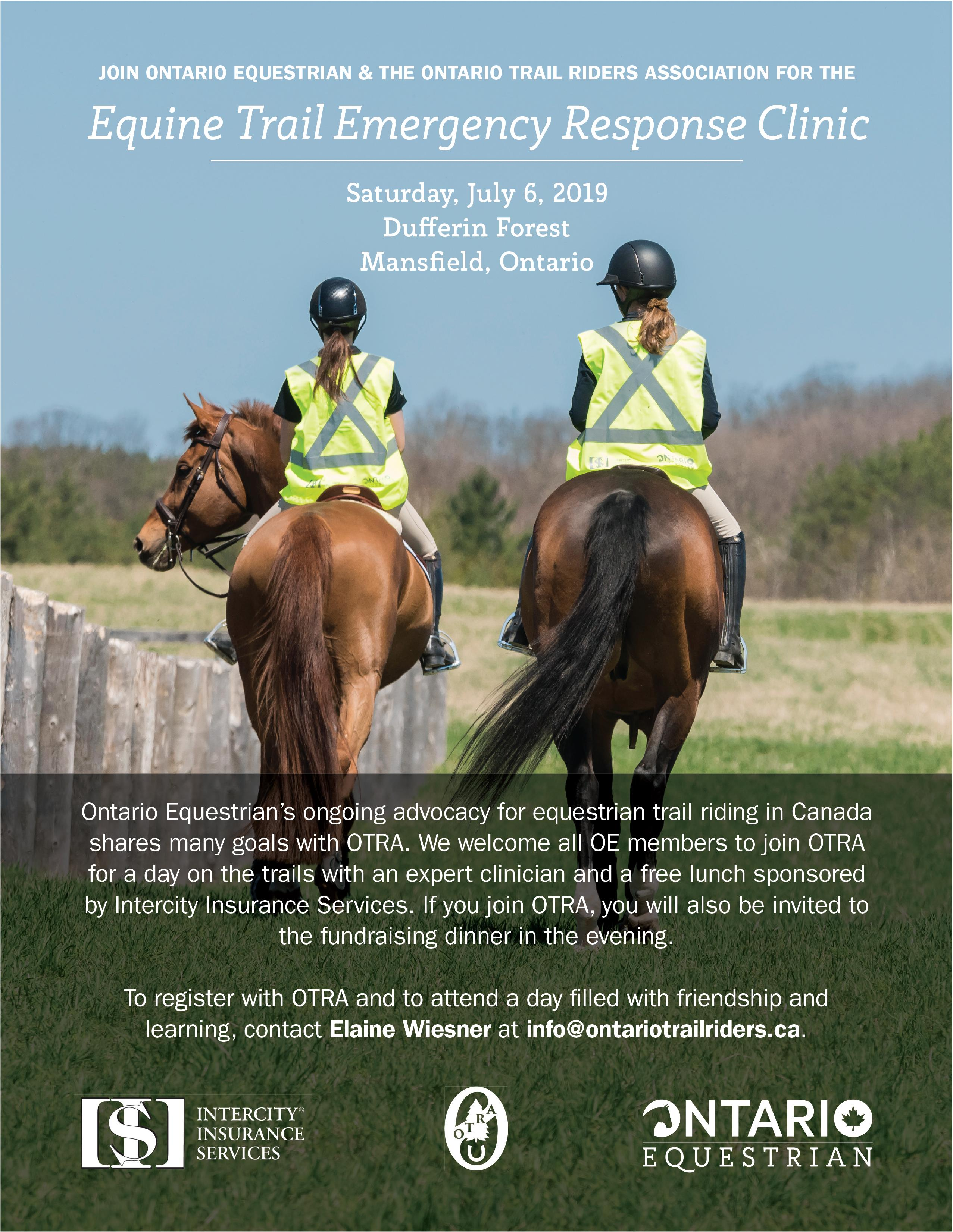 Home - Ontario Trail Riders Association